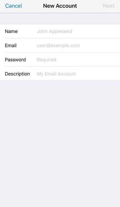 How do I set up email on my iPhone?